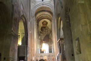 Die Swetizchoweli-Kathedrale, Innenansicht.